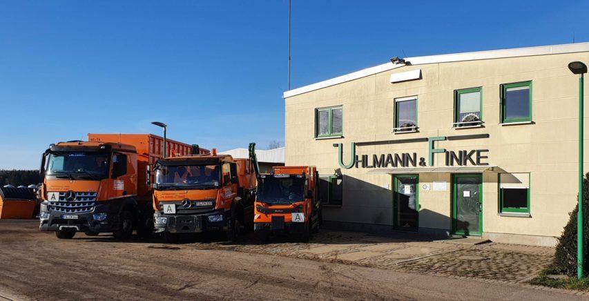 Firmengebäude - Containerdienst in Mittelsachsen